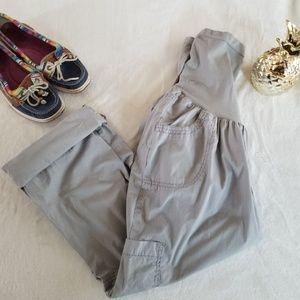 Motherhood Maternity Convertible Cargo Pants, XL